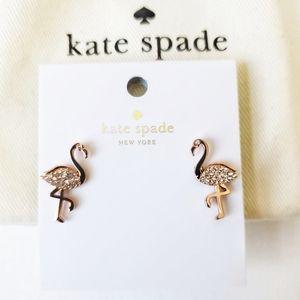 kate spade Jewelry - Kate Spade flamingo earrings